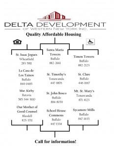 Delta ad apartments