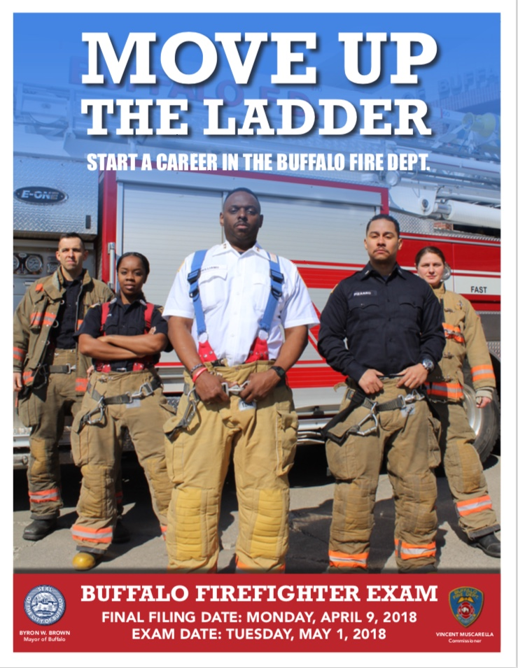 Recruitment campaign for 2018 Buffalo Firefighter Exam has